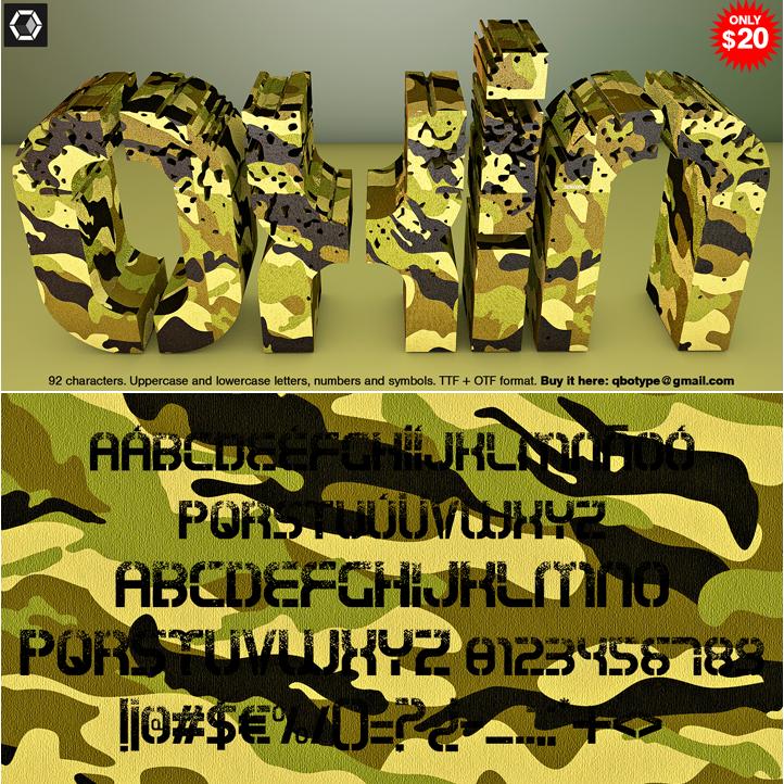 Tipografia Oxin War