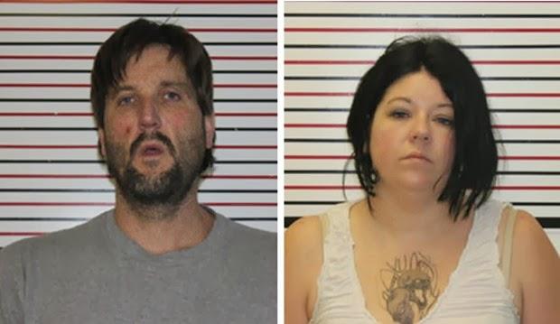Casal é preso por dar metanfetaminas como gorjeta