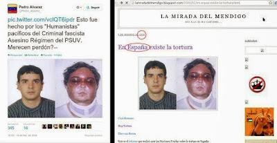 Venezuela: coup de projecteur sur les zones d´ombre médiatiques Espan%CC%83a+tortura+VZA