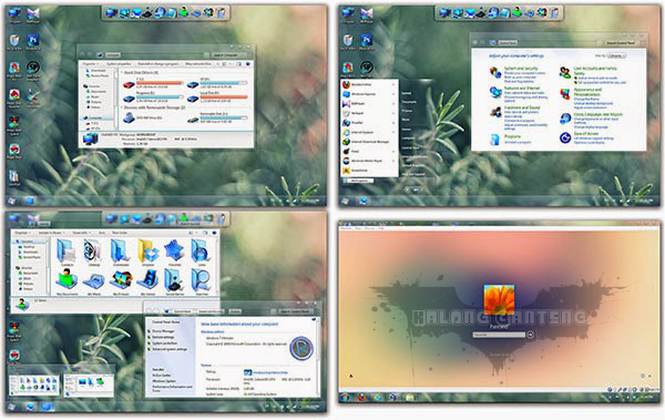screenshot Radiance Skin Pack win 7 only