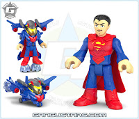 Imaginext DC Super Friends Battle Shifterz Superman armor robots イマジネックスト アメコミ バットマン