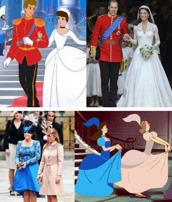 cinderella, kate middleton, prince william, royal wedding