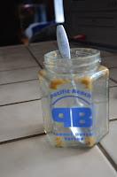 Empty jar Pacific Beach Peanut Butter