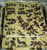 MARBLE CHEESE BROWNIES BAKAR