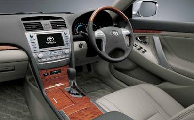 Foto Gambar Interior Toyota Camry Gen 2 2006 2007 2008