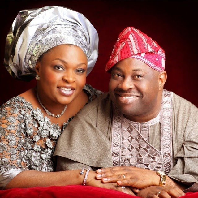 Dele Momodu Celebrates His Wife As She Turns a Year Old Today