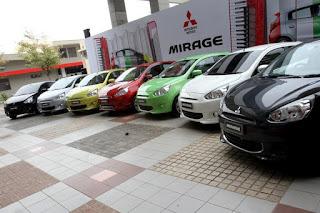 warna mitsubishi mirage 2012