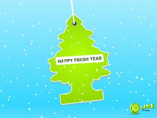 Happy New Fresh Year 2009 Love Wallpaper