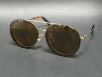 メガネ+偏光サングラス