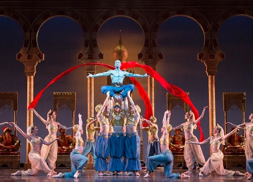 Houston Ballet's Aladdin at Chicago's Auditorium Theatre