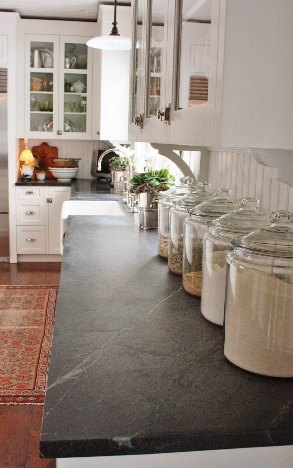 White Soapstone Countertops : For the love of a house soapstone