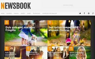 Share NewsBook Responsive Blogger Template đẹp chuẩn Seo