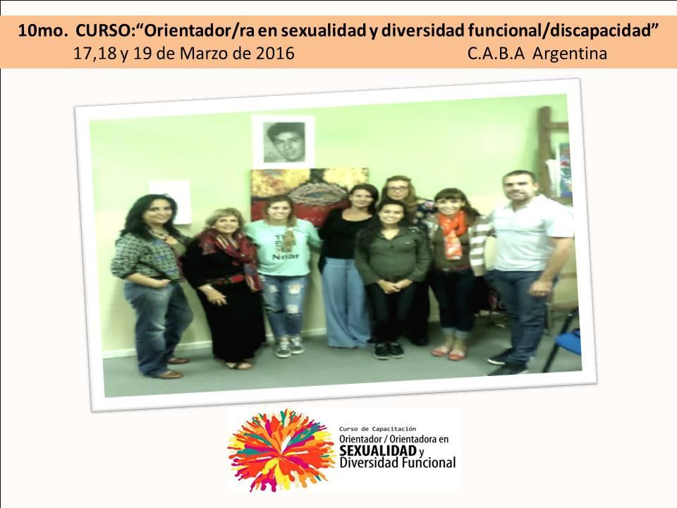 """10º Curso Orientador/ra en sexualidad y diversidad funcional"""""""