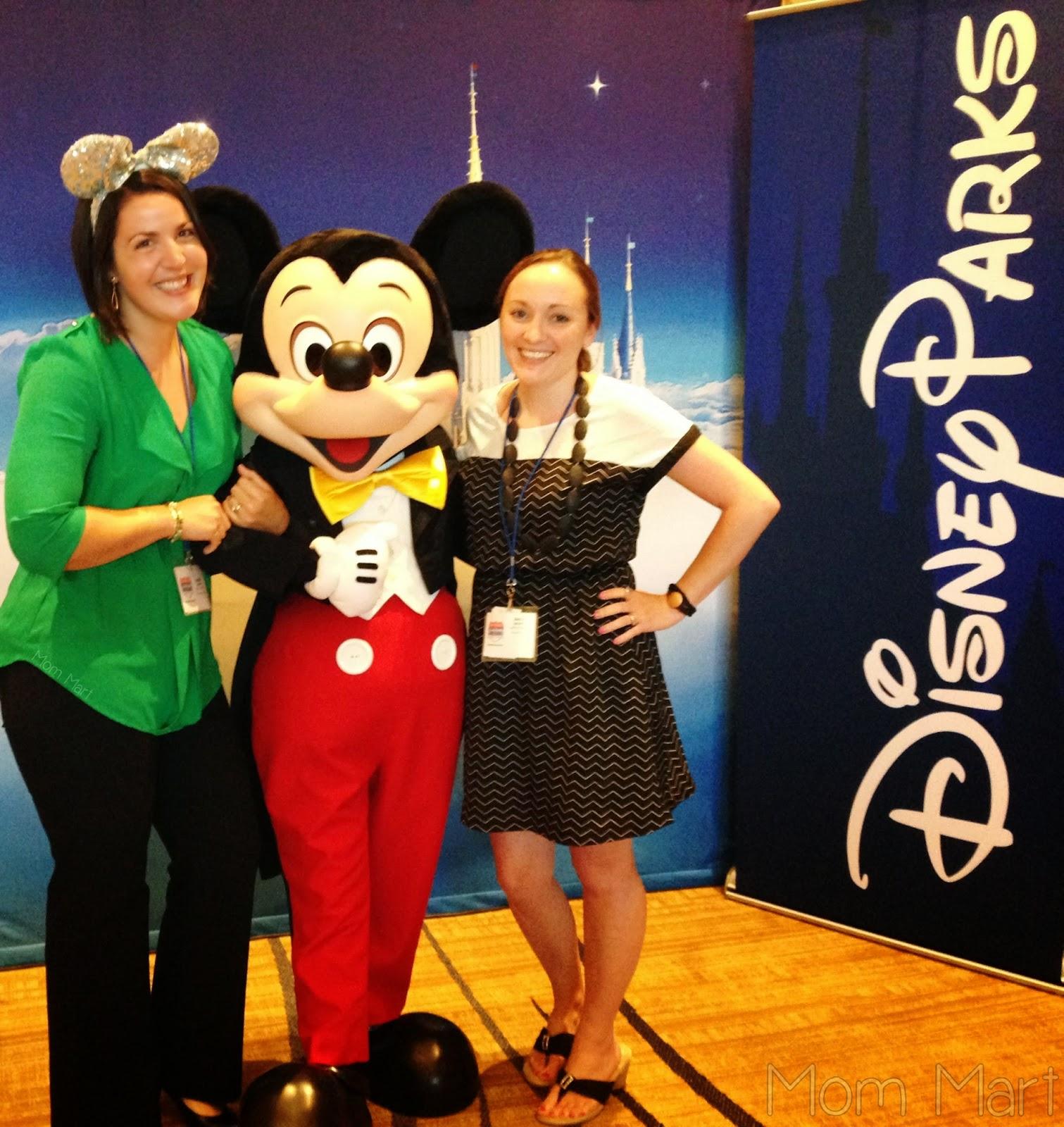 Disney OTR Celebration in Chicago #DisneyOTR #DisneySMMedia #Mickey Mouse #BabyDickey #MomMart