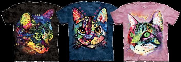 Cat t shirt examples