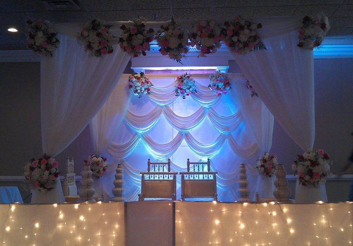 Indian inspiration is one of the main trending themes for weddings in