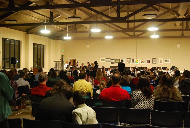 Montgomery Catholic Preparatory School Band and Chorus Fall Concert held October 22 2