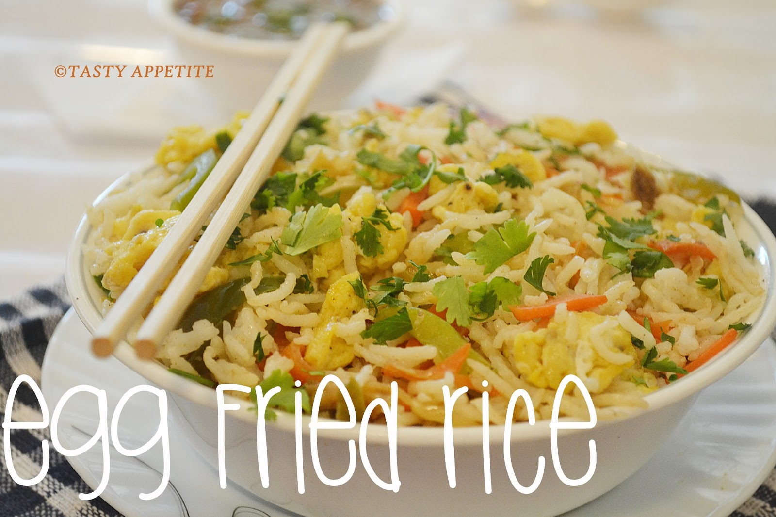 Egg fried rice restaurant style fried rice recipe quick easy it can be prepared in a jiffy and has a special place in my home also this easy meal is a great way to use up left over rice vegetables ccuart Image collections