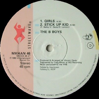 The B-Boys – Girls (VLS) (1985) (320 kbps)
