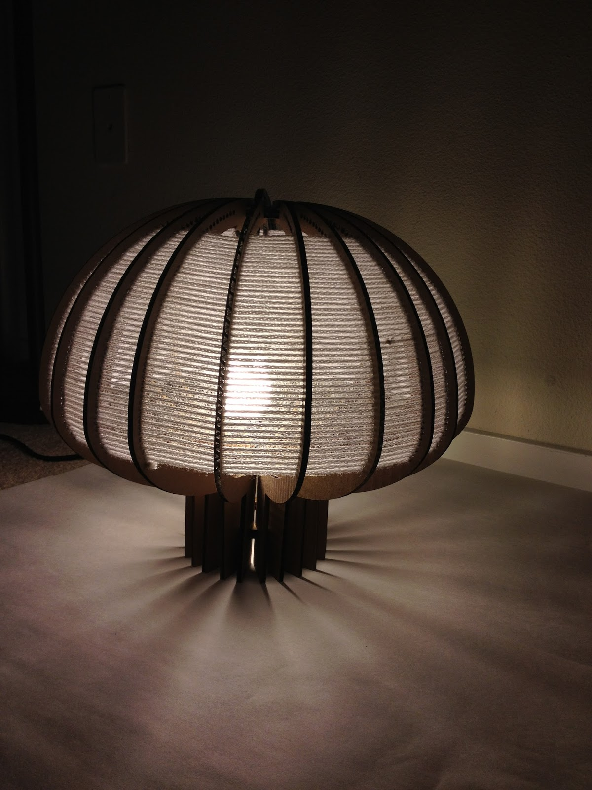 de by upcycled lampshade boxcrown gilbert lamp cardboard upcycledzine rooij gilbertsdesign