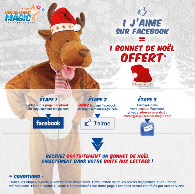 Un bonnet de Noël 100% gratuit !
