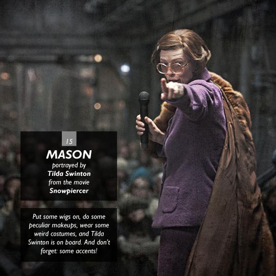Mason from Snowpiercer