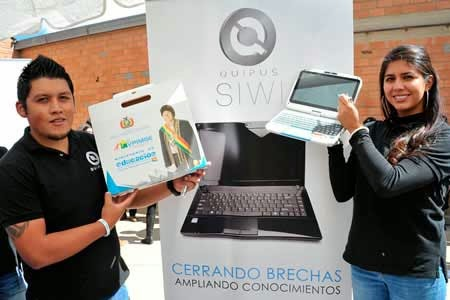 800 computadoras Quipus serán entregadas en Tupiza