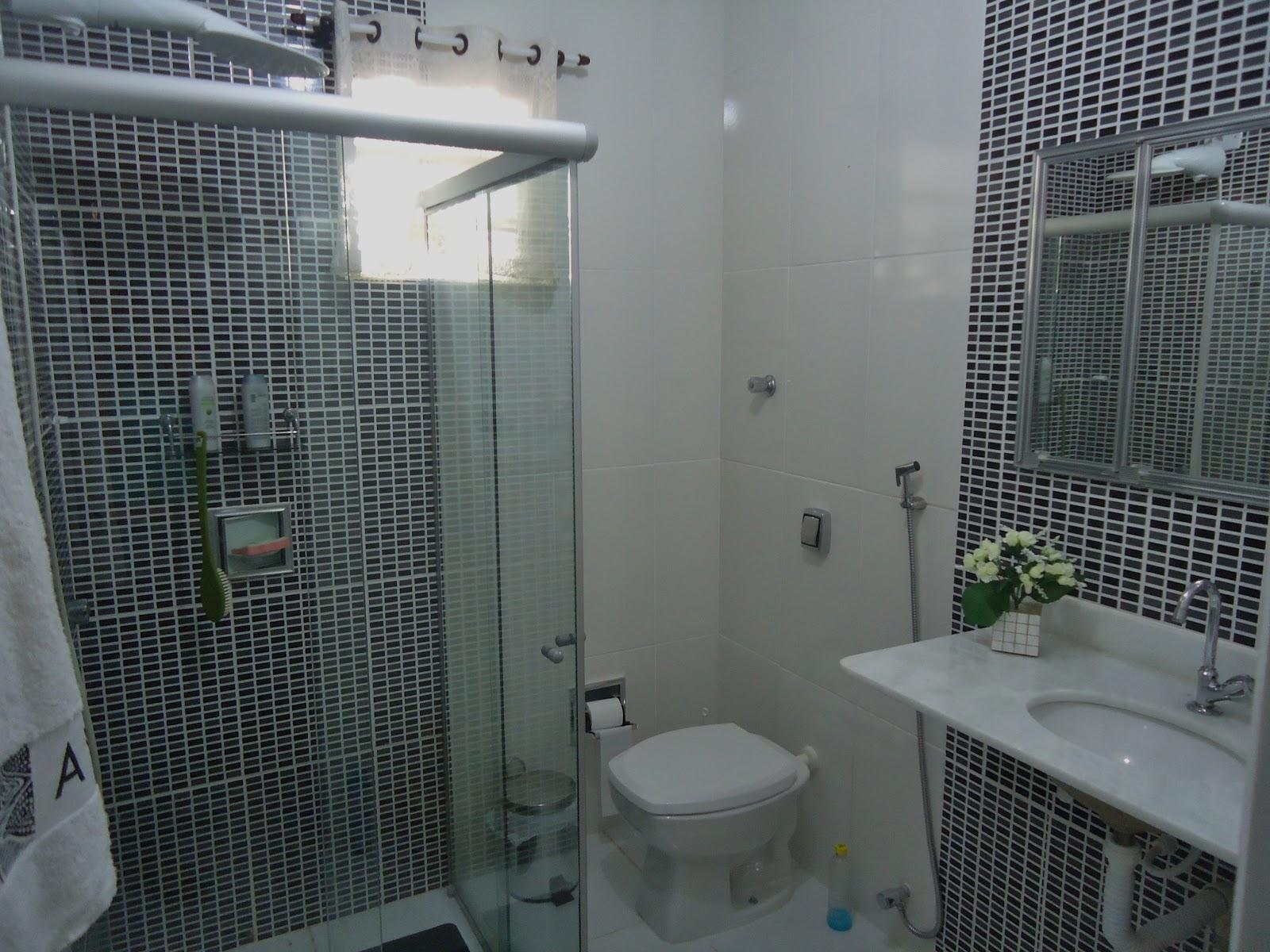 COM ESTILO. decore seu banheiro gastando pouco piso pastilhado #576674 1600 1200