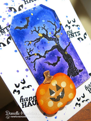 Happy Haunts Card | Newton's Nook Designs | Created by Danielle Pandeline