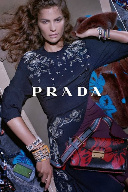 CAMERON RUSSEL FOR PRADA RESORT 2014