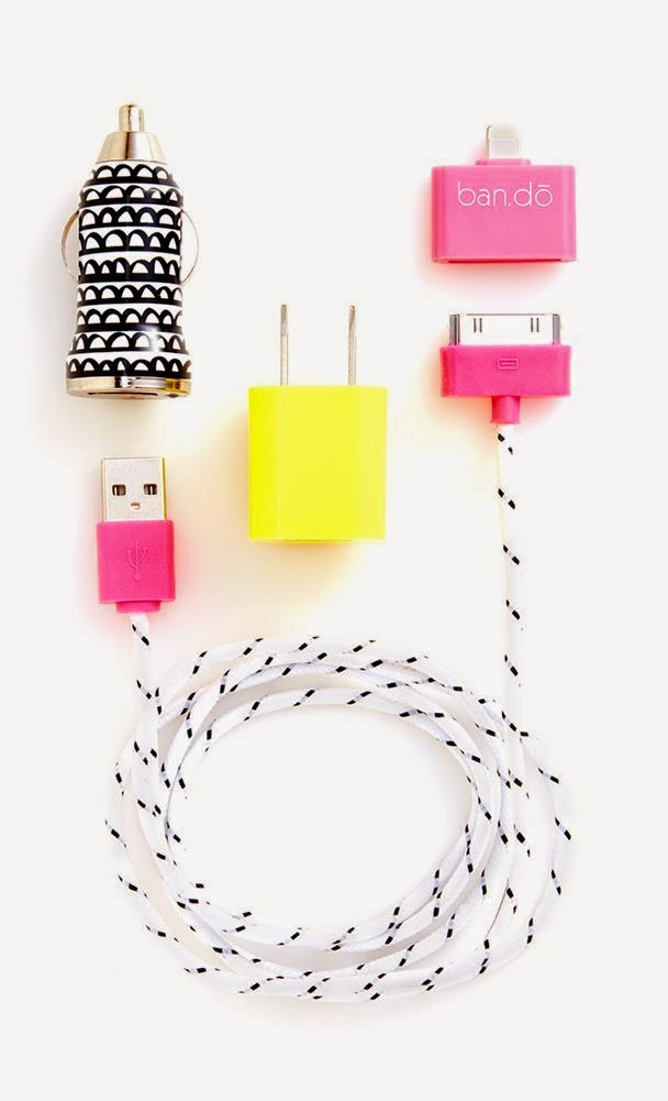 colorful charging kit for iPhone