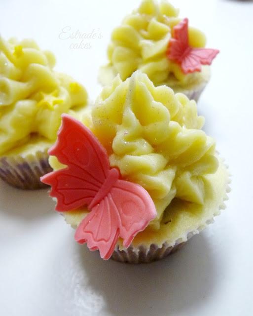 receta de cupcakes de caramelo con buttercream de tocino de cielo - 01