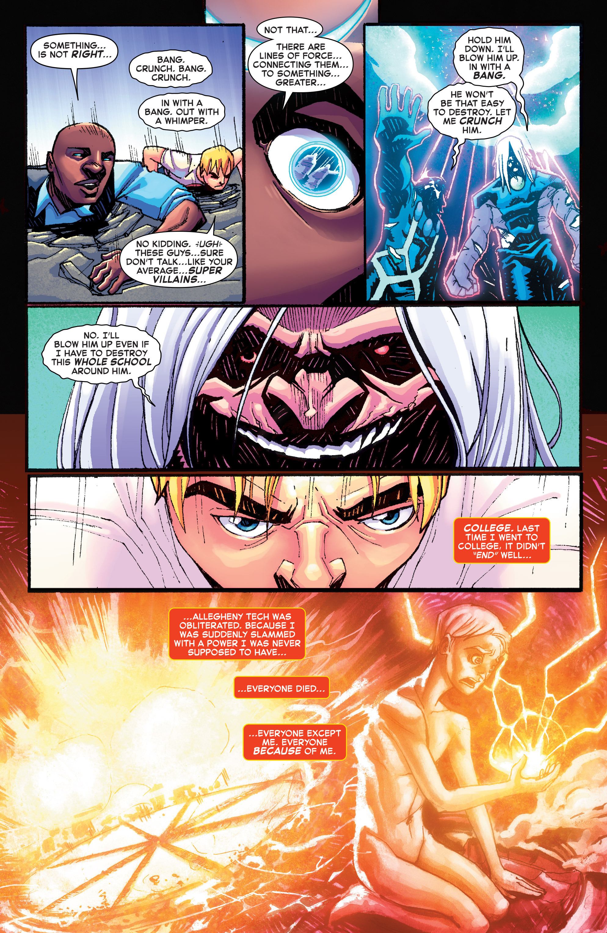 Read online Starbrand & Nightmask comic -  Issue #1 - 19