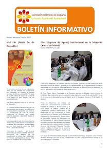Boletín de julio 2017