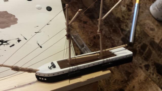 model ship details