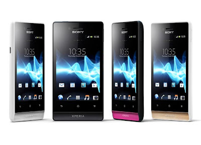 sony xperia miro android phone