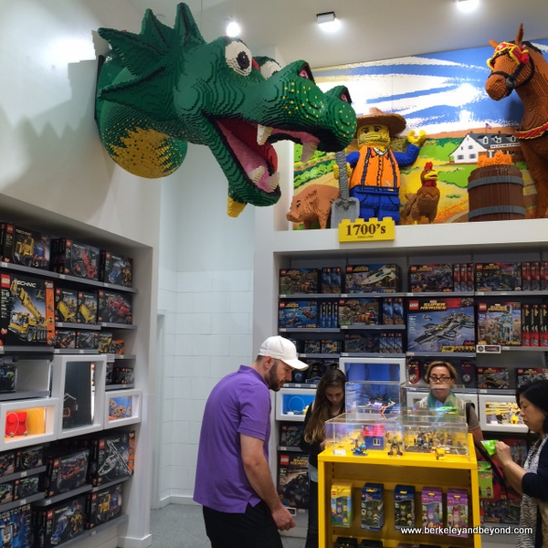 Travels With Carole: Things to Do: The Lego Store, NYC