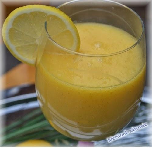 Koktajl cytrynowo-gruszkowy