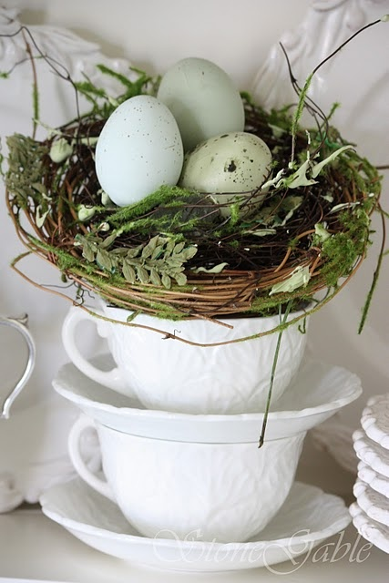 Easter Decor on Pinterest