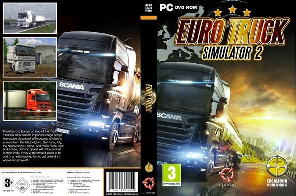Download Euro Truck Simulator terbaru 2014-2015 full version