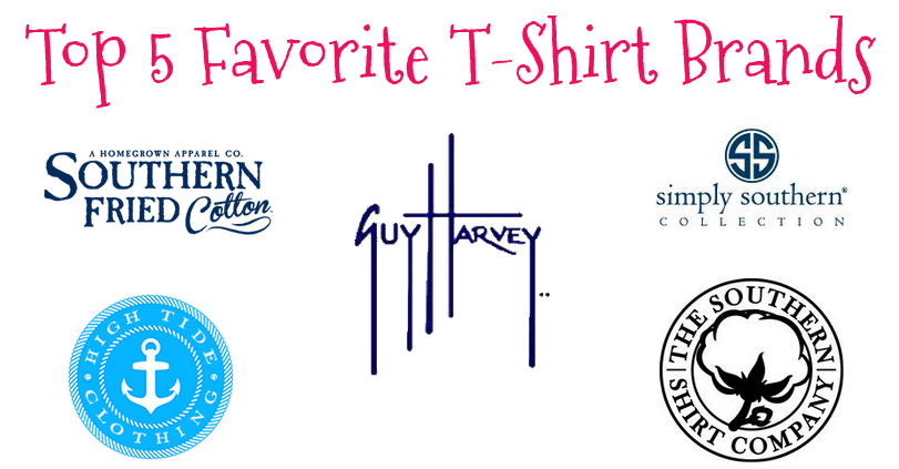 stay fabulous top 5 favorite t shirt brands
