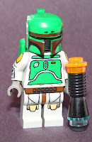 Star Wars Lego Boba Fett with painted arms and legs from Cloud City set # 10123