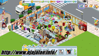 Cheat Market Land EXP,Level,Coins,Credits,Stock Game Facebook Market