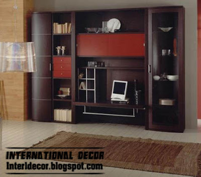 Home Exterior Designs: Modern TV wall units designs and TV shelving ...