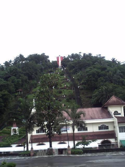 Kamay ni Hesus Shrine in Lucban, Quezon