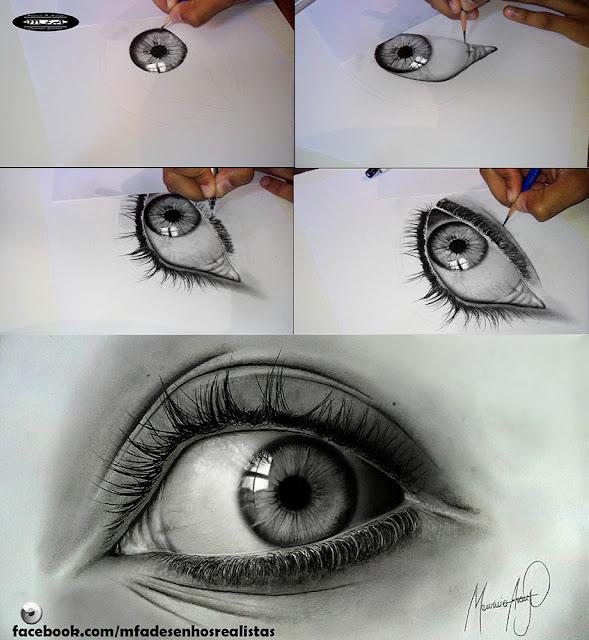 Desenhos Realistas - Eyes