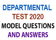 DEPARTMENTAL TEST