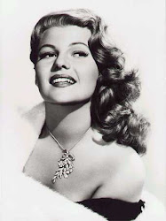 RITA HAYWORTH- 1918 – May 14, 1987