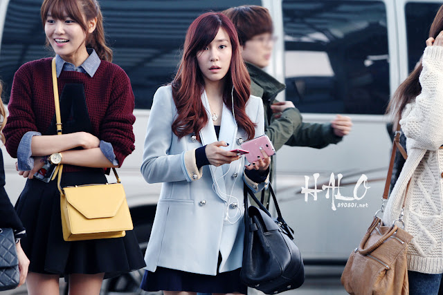 SNSD at Incheon Airport Heading to Japan