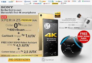 Promo Sony Xperia Z5 Premium Dual